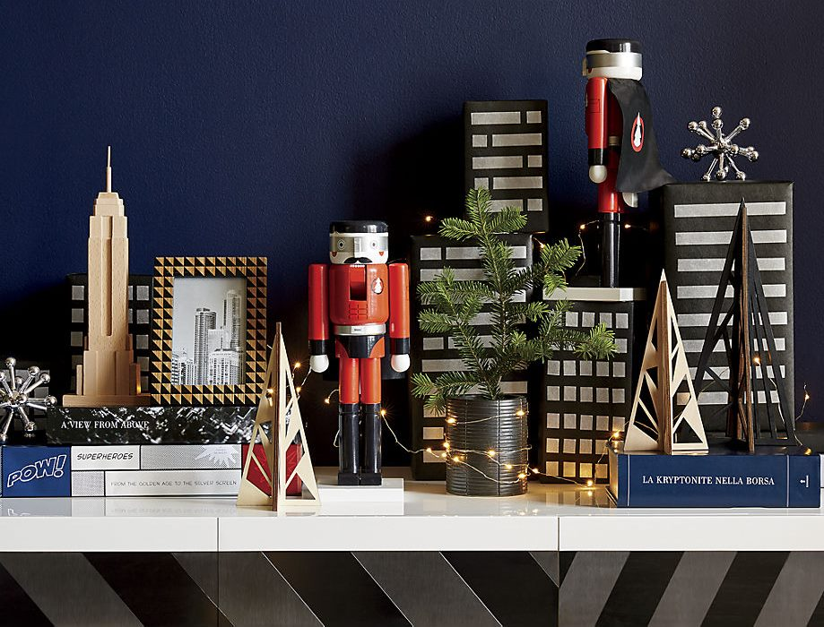 Whimsical holiday decor from CB2
