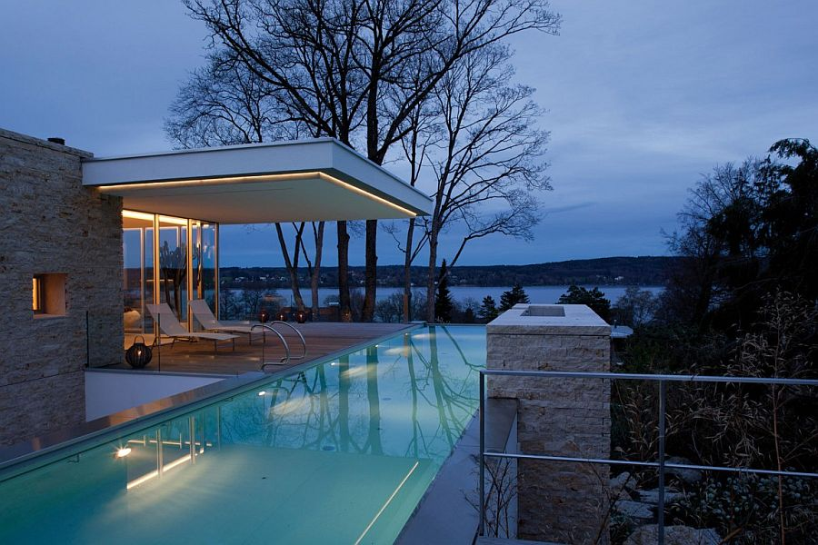 House S in Munich overlloking Lake Starnberg