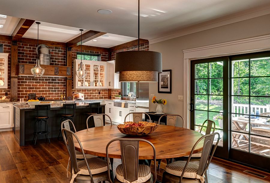 Kitchen and dining room rolled into one [From: Farinelli Construction / Andy Warren Photography]