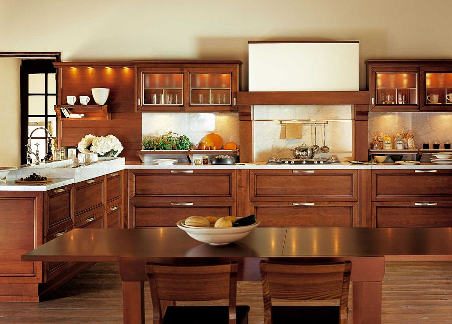 Wide range of cabinets and storage solutions turn Certosa into a dream kitchen