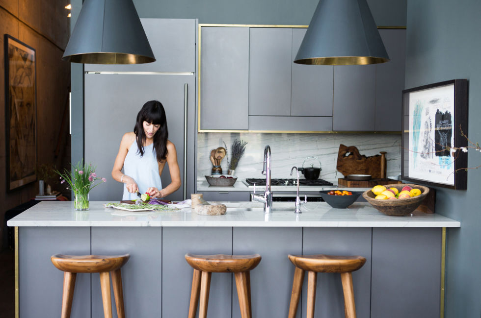 Kitchen of Athena Calderone