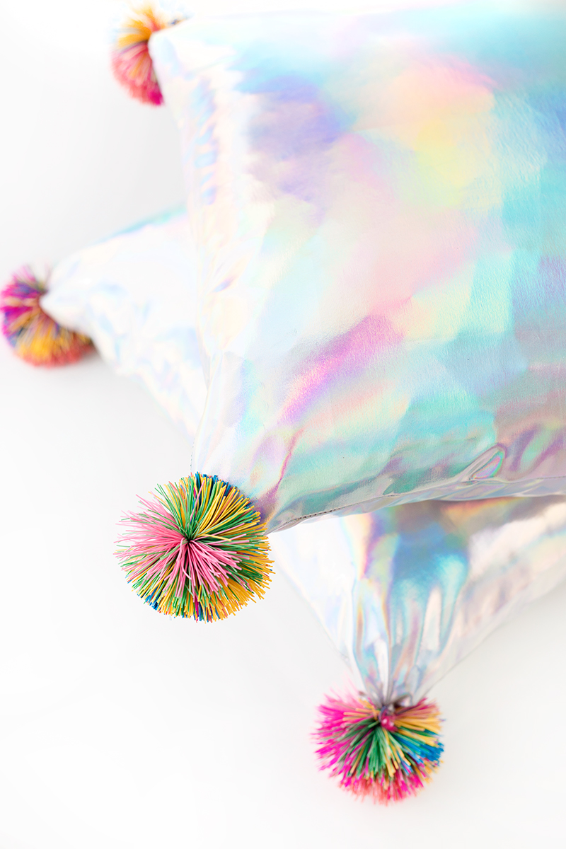 Koosh ball pillows from Studio DIY