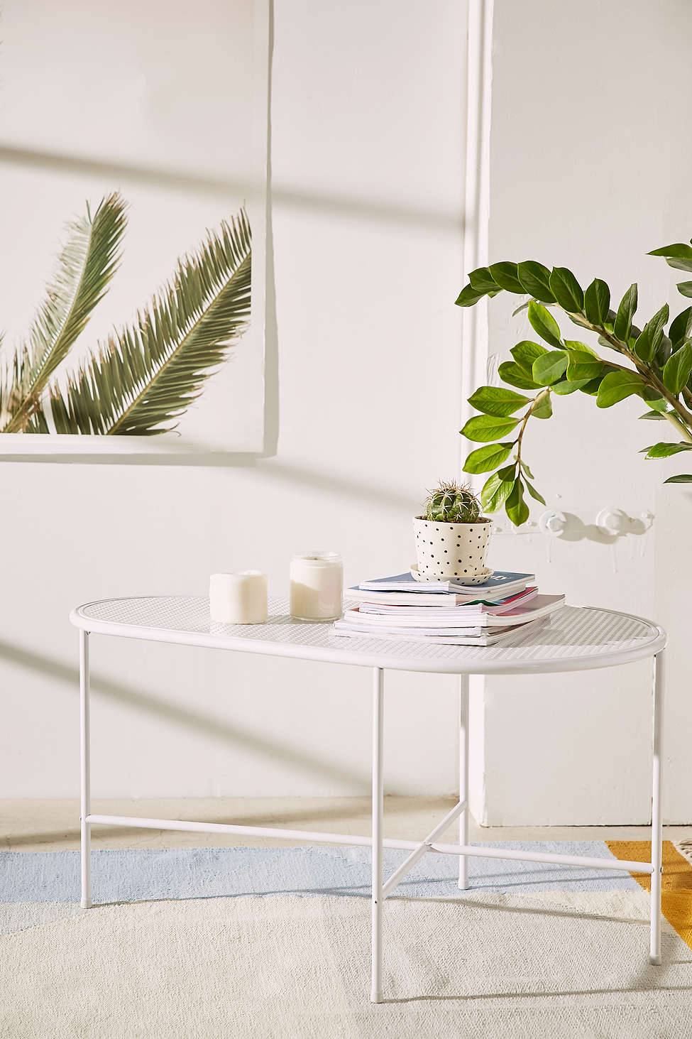 Metal coffee table from Urban Outfitters