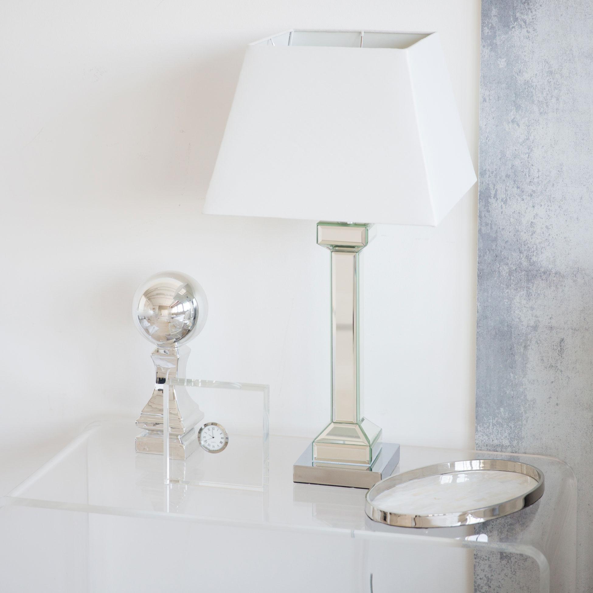 Mirrored lamp from Zara Home