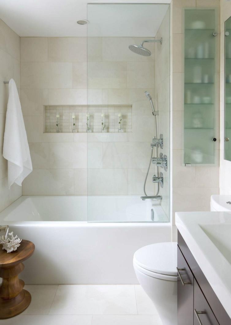 Modern bathroom with a clean, crisp look