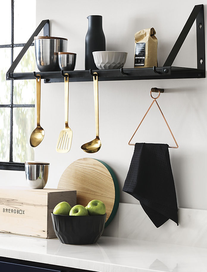Modern eclectic kitchen from CB2