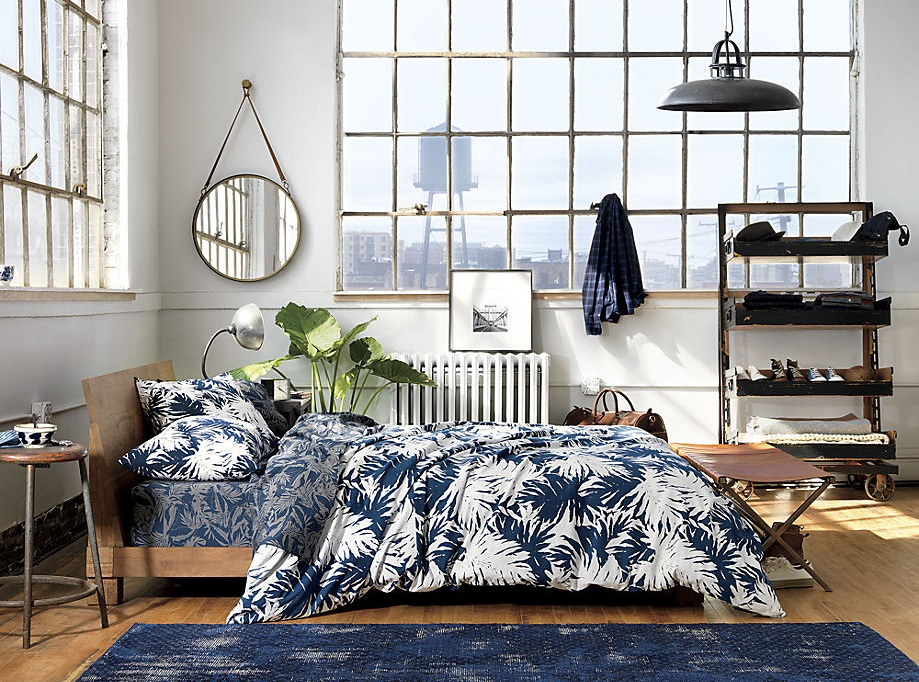 New tropical bedding from CB2