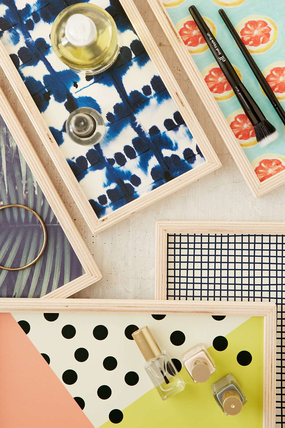 Trendy trays from Urban Outfitters