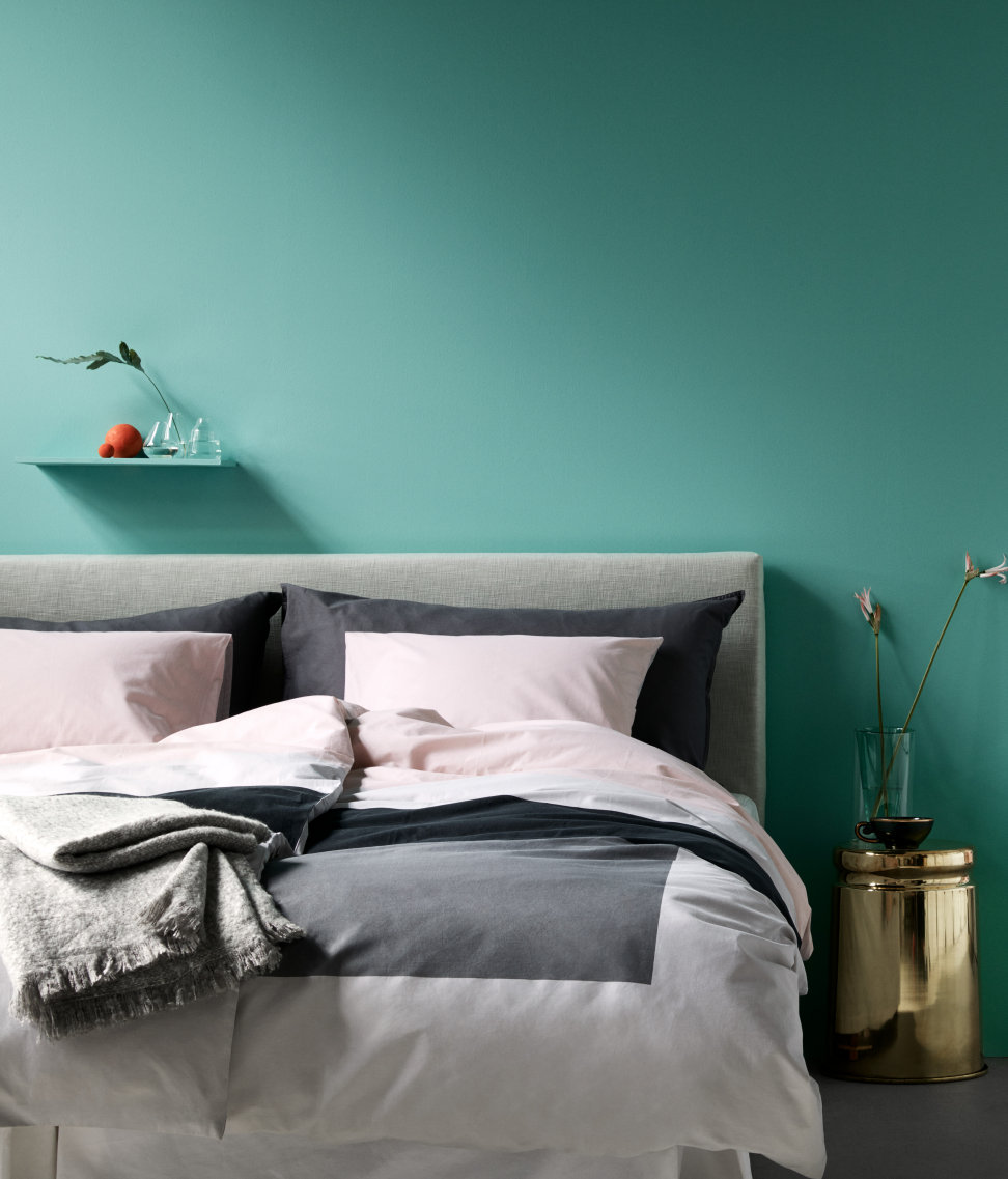 Breezy bedroom from H&M Home