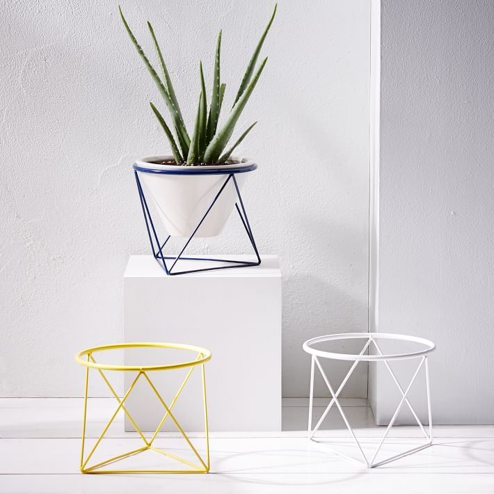 Eric Trine plant holders from West Elm