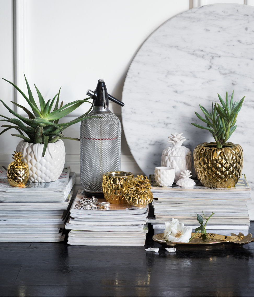 Tropical planters from H&M Home