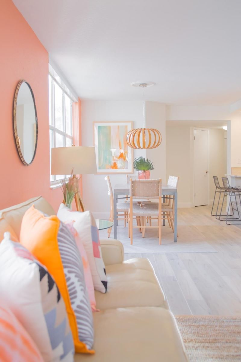 Find interesting ways to incorporate color