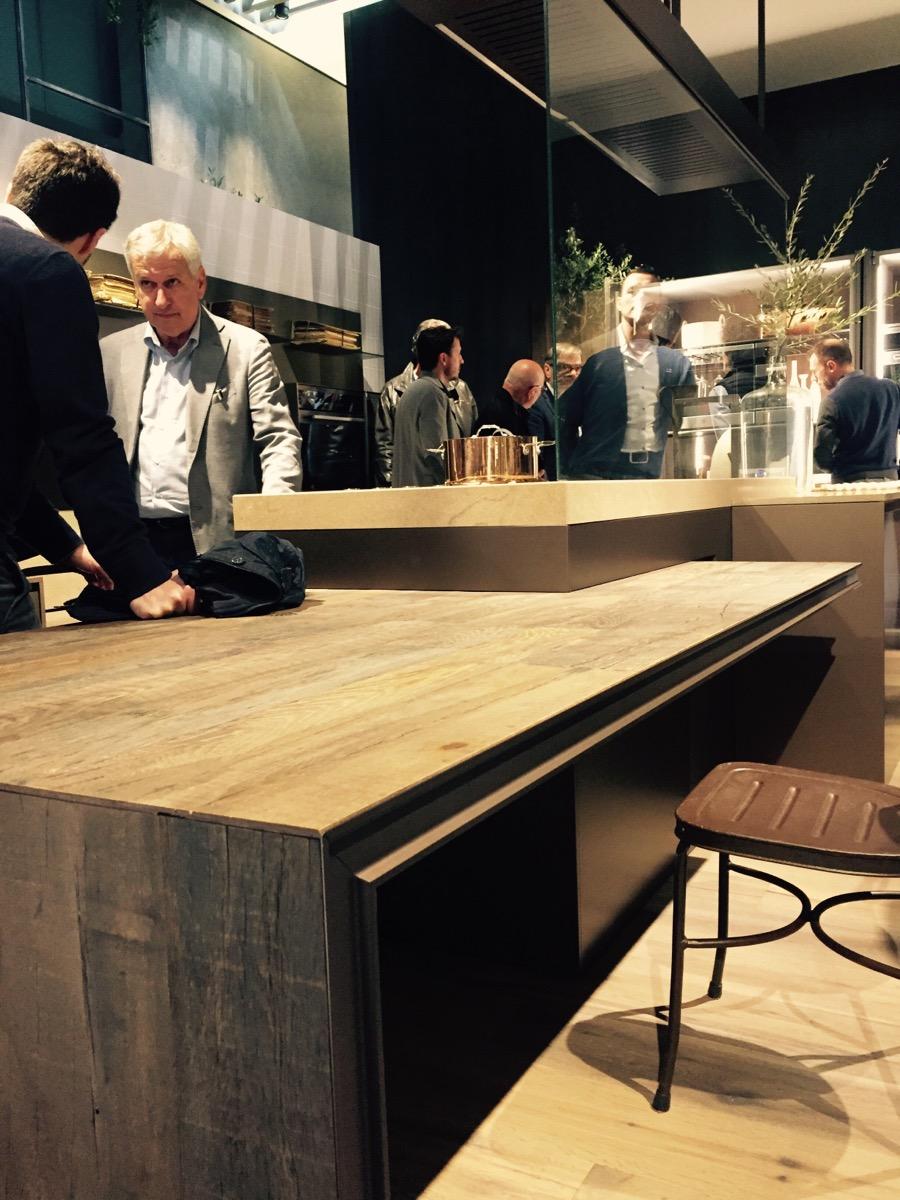 Innovative kitchens from Ernestomeda at EuroCucina 2016