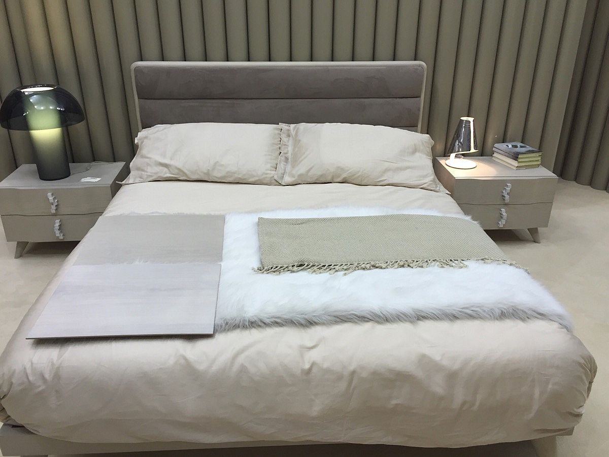 Nightstand and beds from Benedetti Mobili – Salone del Mobile 2016, Milan
