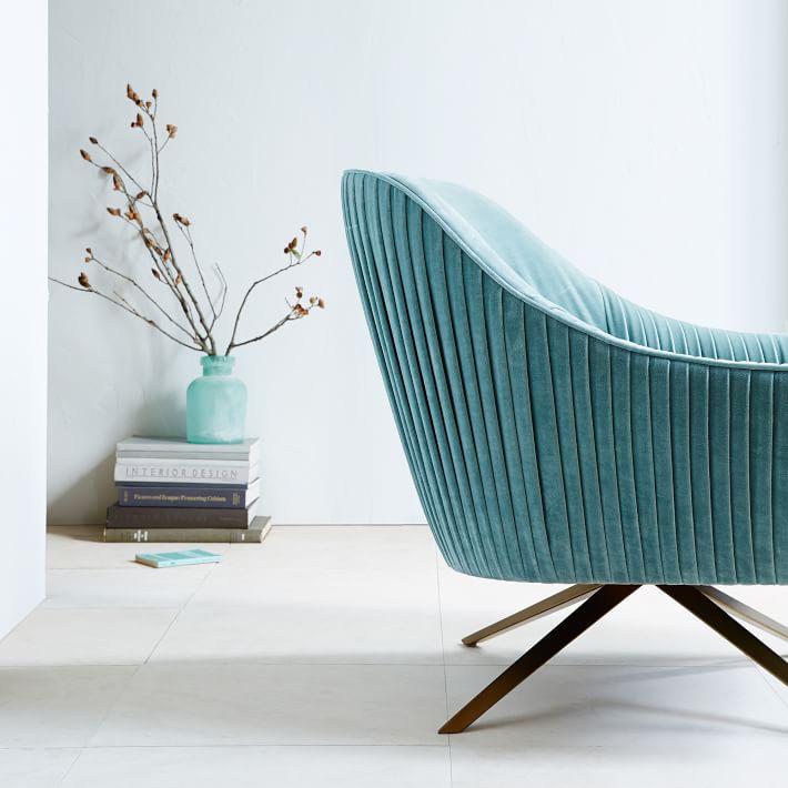 Roar + Rabbit swivel chair from West Elm