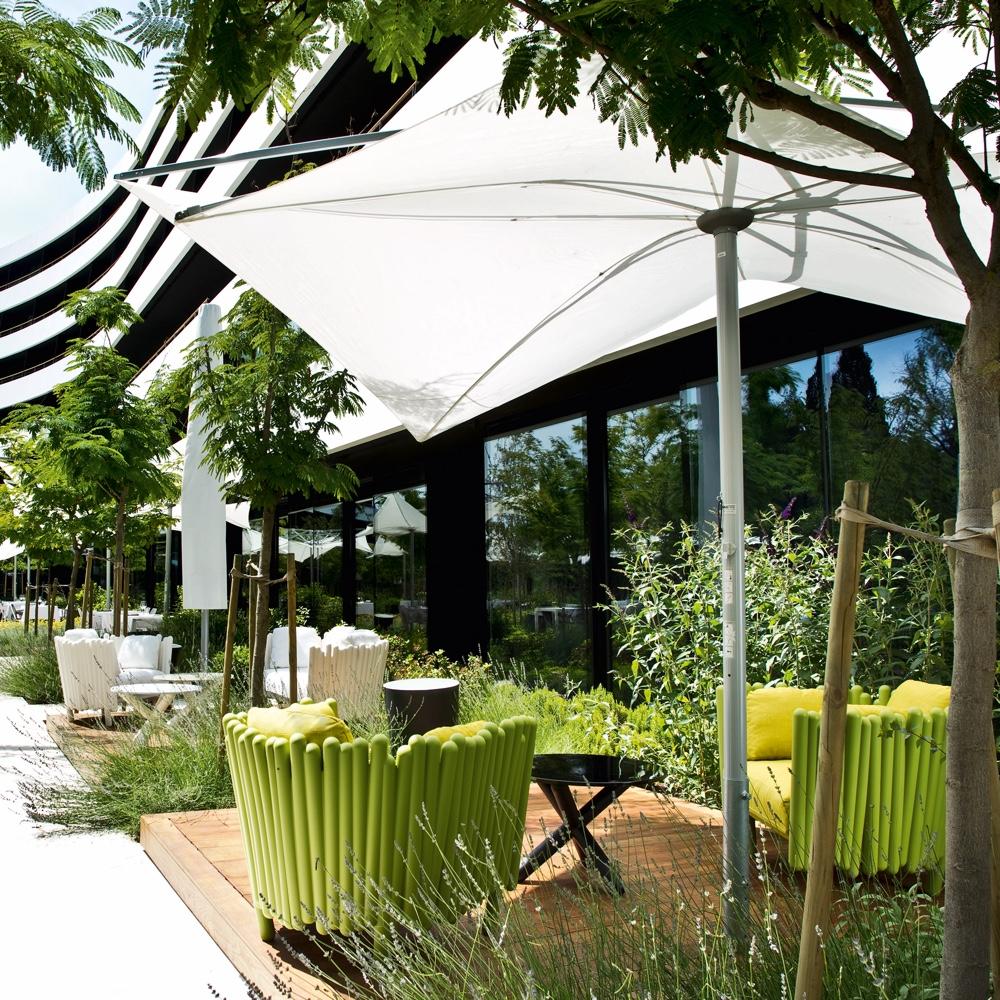 Canisse outdoor armchair fromItalian heritage brandSerralunga.