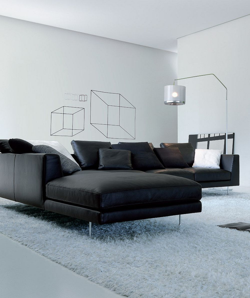 Closer look at the stylish modular sofa from Jesse