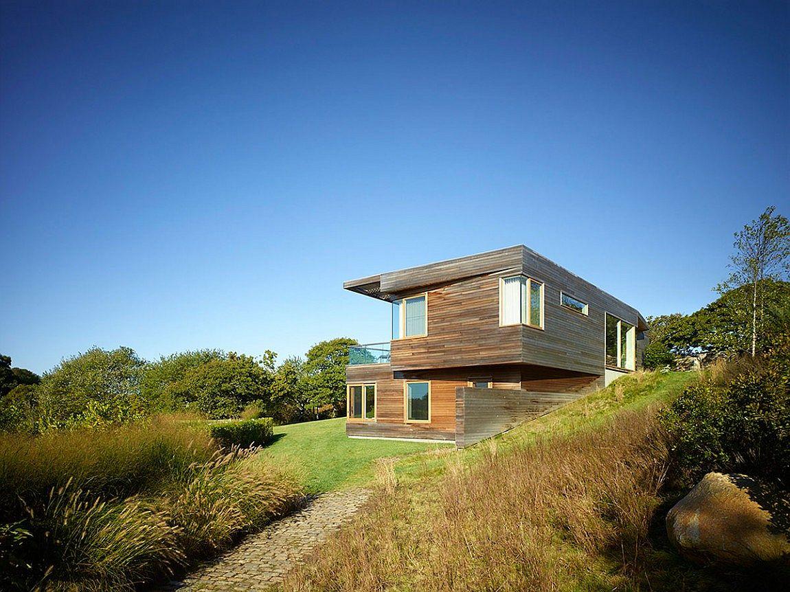 Contemporary farm house nestled on Martha's Vineyard, Massachusetts