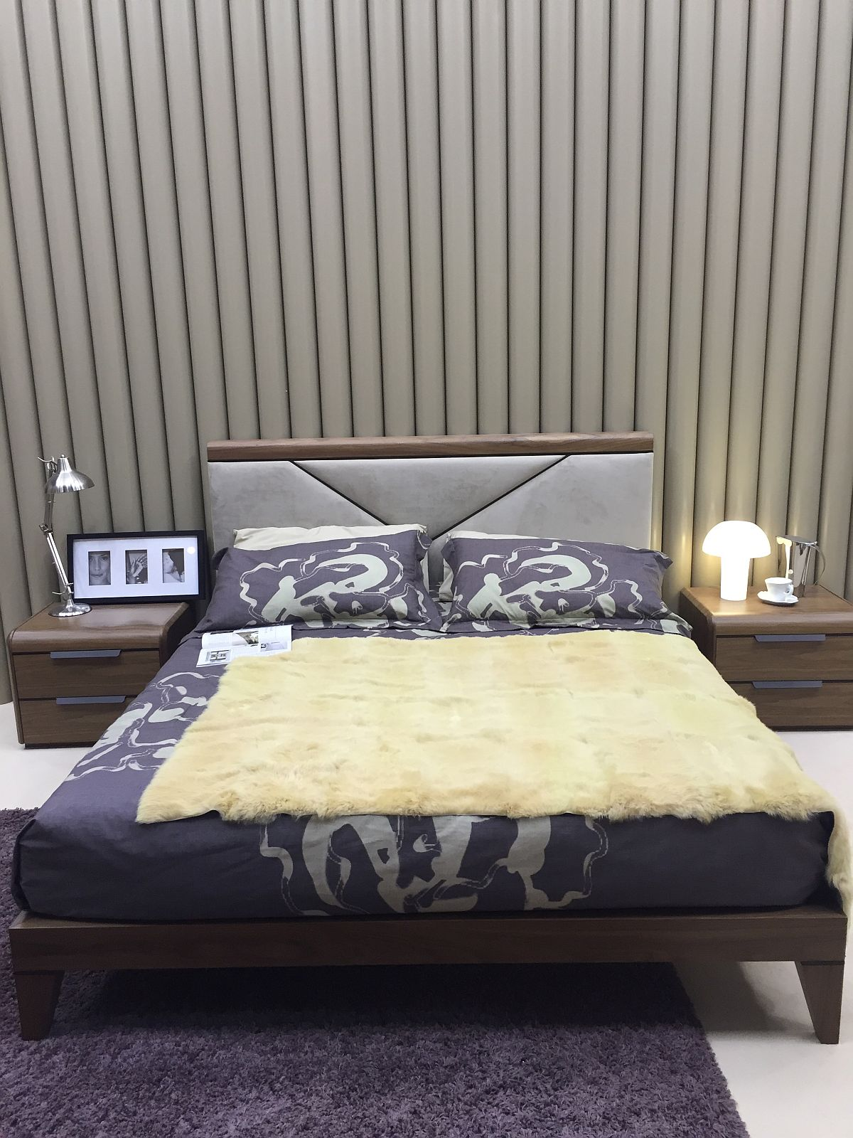 Nifty bed design from Benedetti – Salone del Mobile 2016