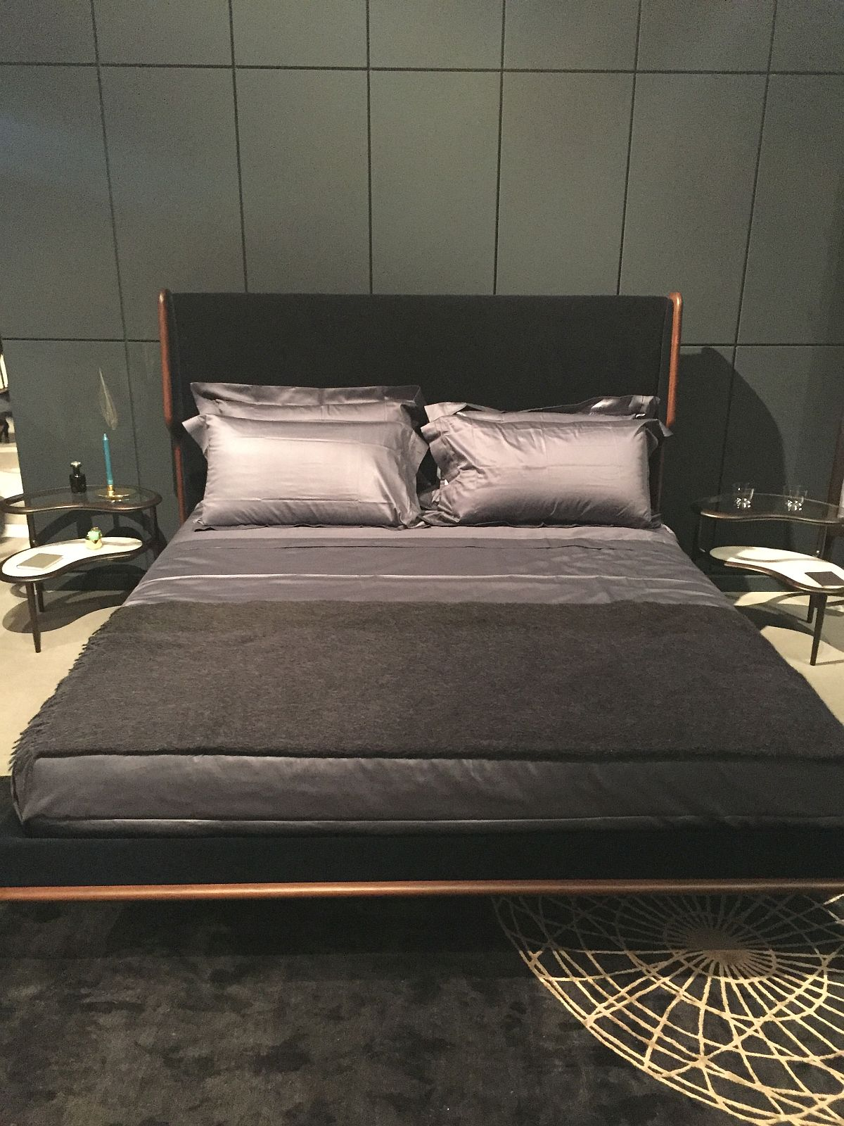 Ultra-cool bed design from Ceccoti Collezioni at Milan 2016