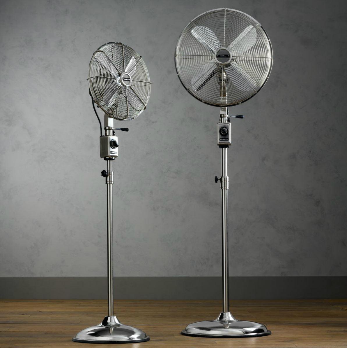 Floor fans from RH Modern