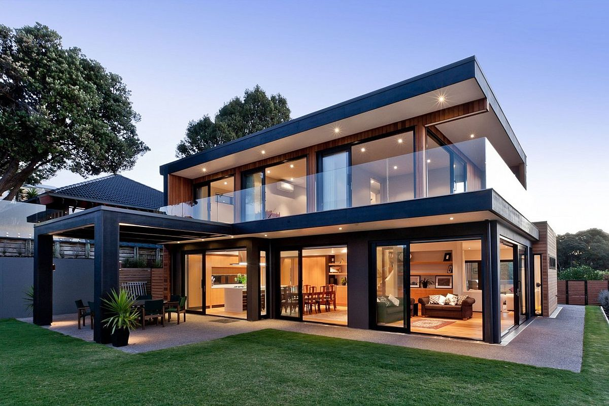 Modern home makeover in Auckland, New Zealand