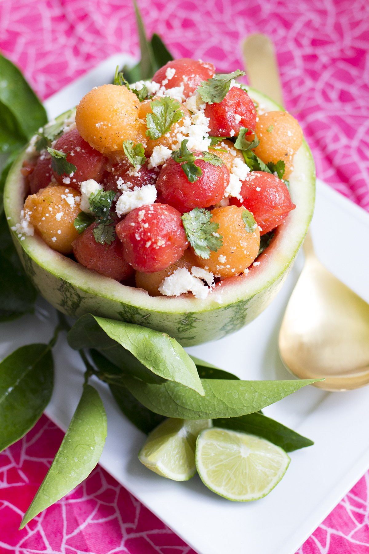 Watermelon salad from Freutcake