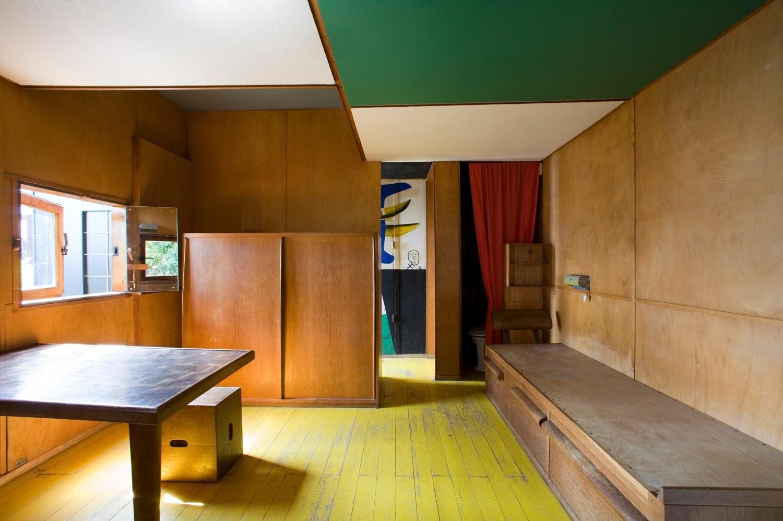 Interior atCabanon de Le Corbusier. Photo byOliver Martin-Gambier©FLC/ADAGP.