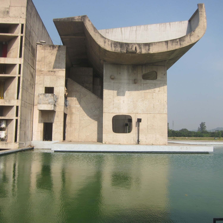 Complexe du Capitole, Chandigarh, India, 1952. Photo byBénédicte Gandini©FLC/ADAGP.