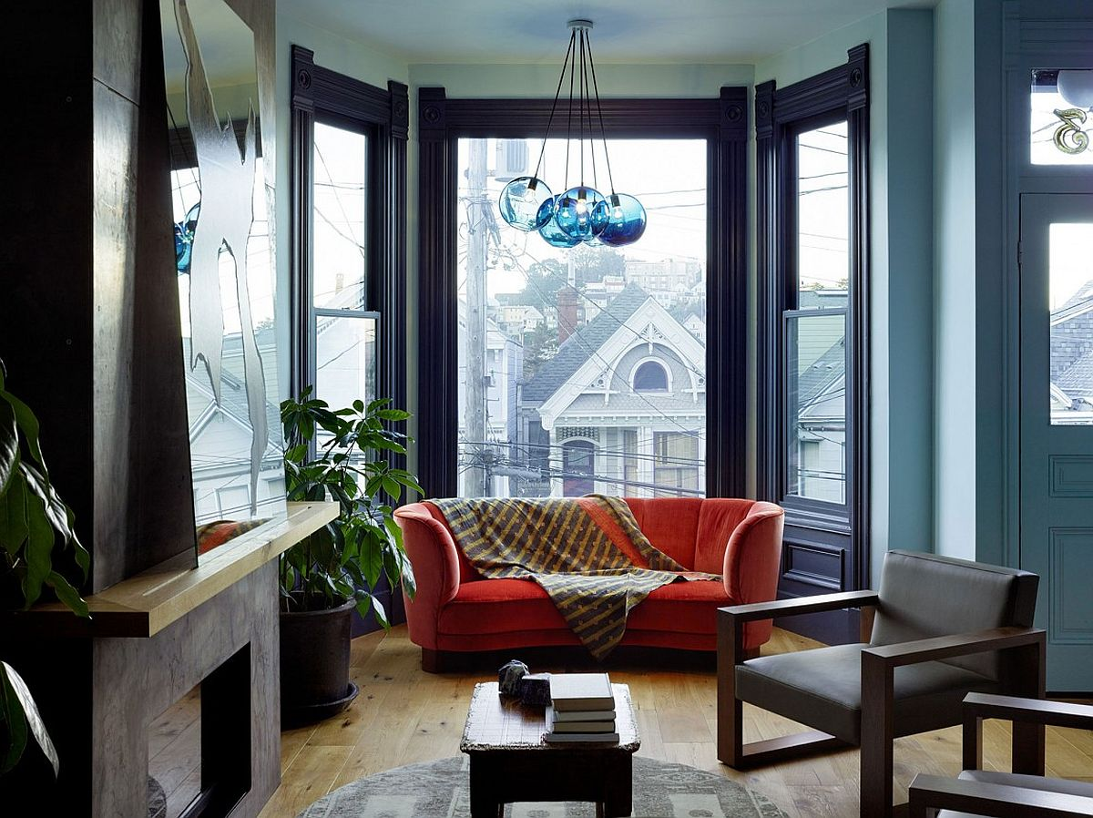 Interior of the lovely Victorian house give a modern facelift