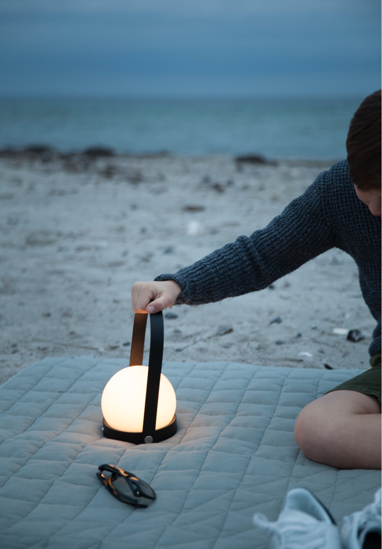 LED Carrie lamp byFrederik Alexander Werner for Menu. Images viaNorm Architects.