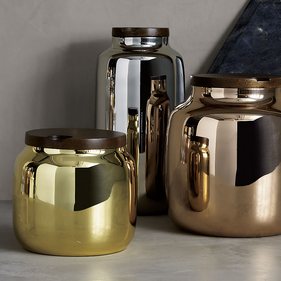 Metallic canisters from CB2