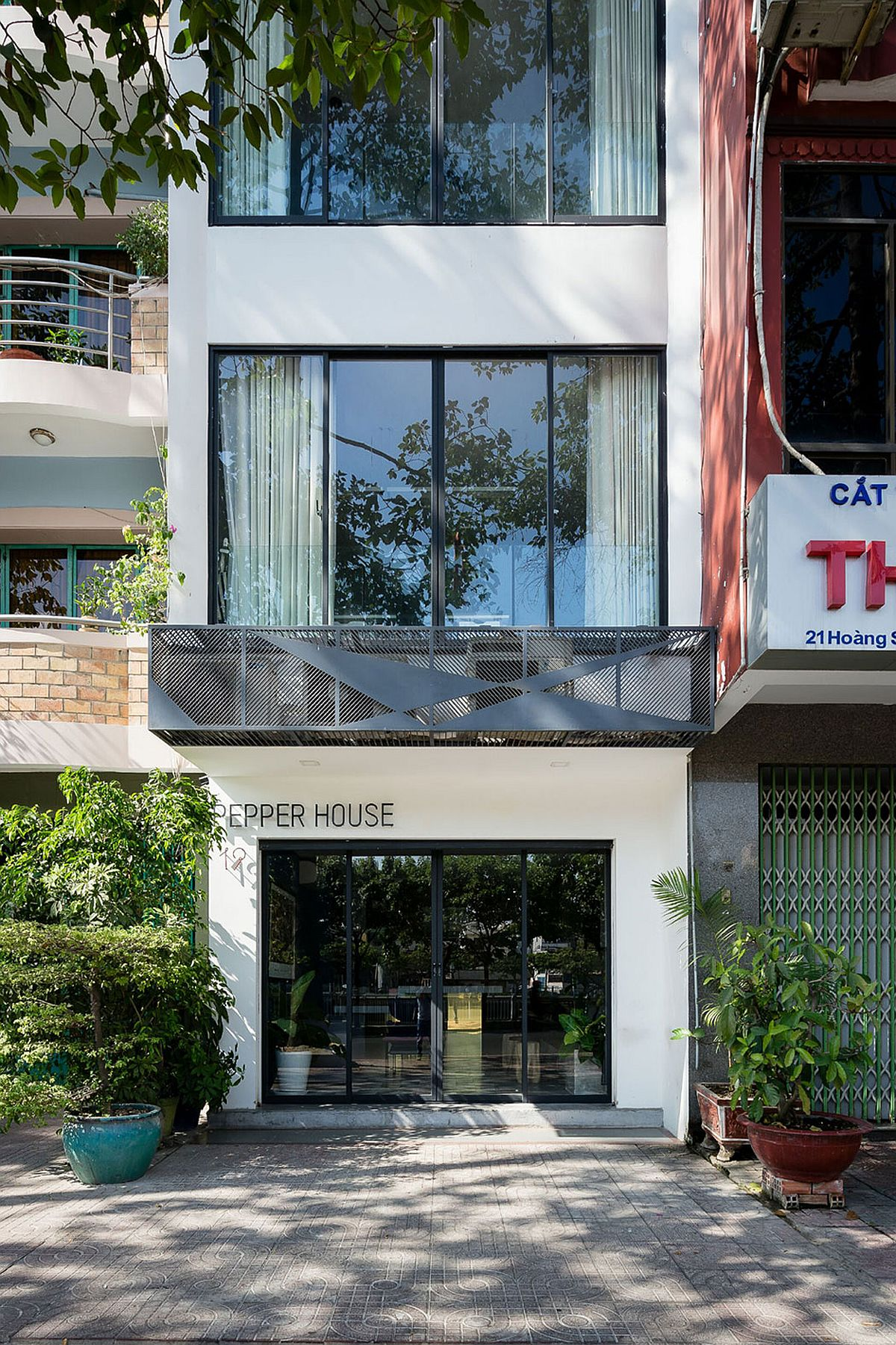 Revamped Pepper House in Ho Chi Minh City, Vietnam