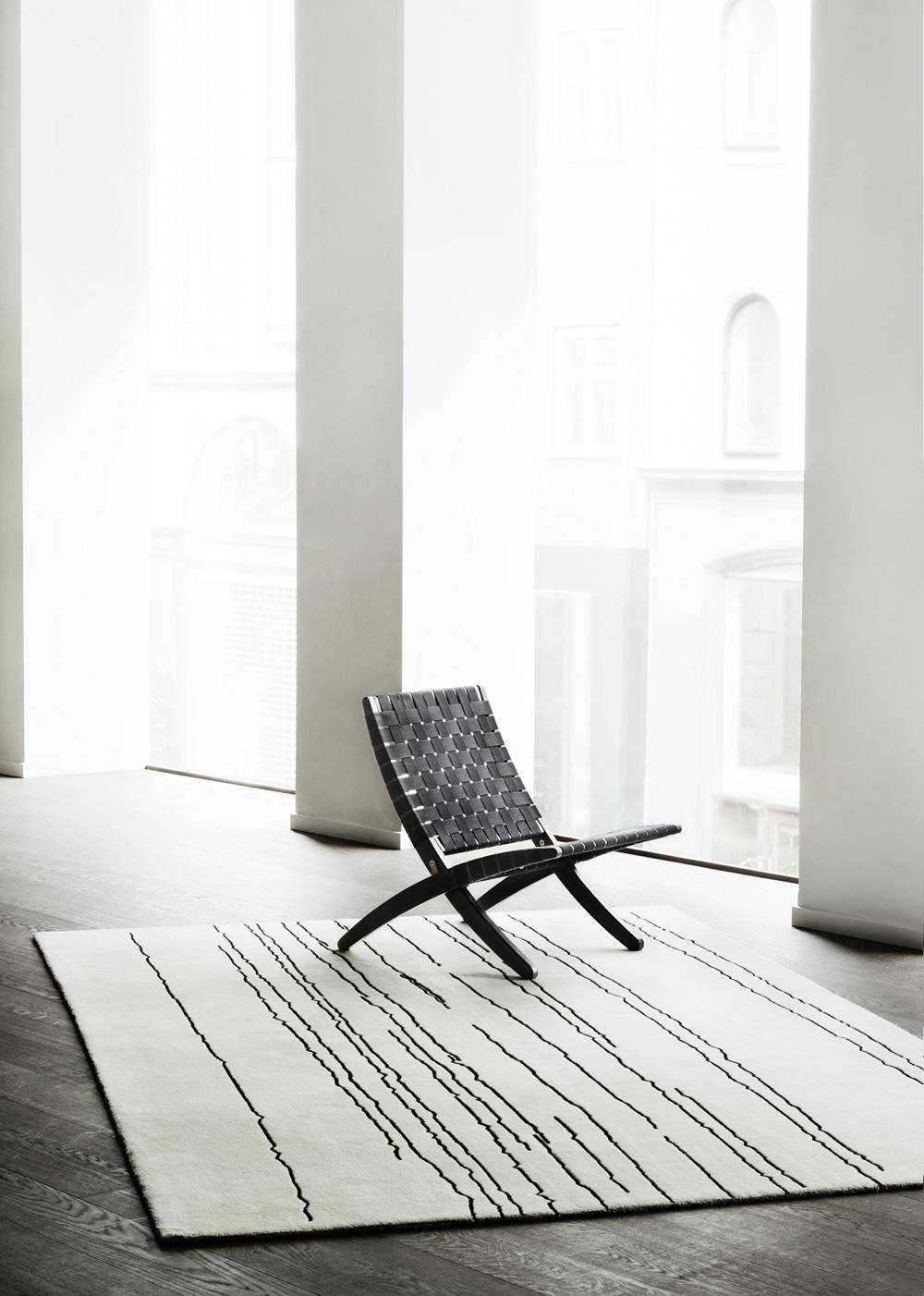Woodlines rug Carl Hansen