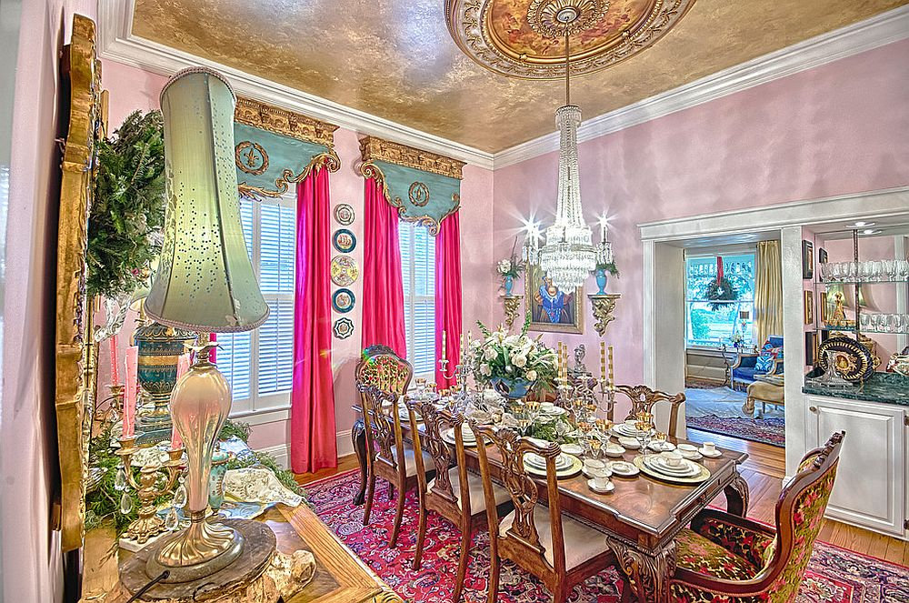 Absolutely stunning Victorian dining room!