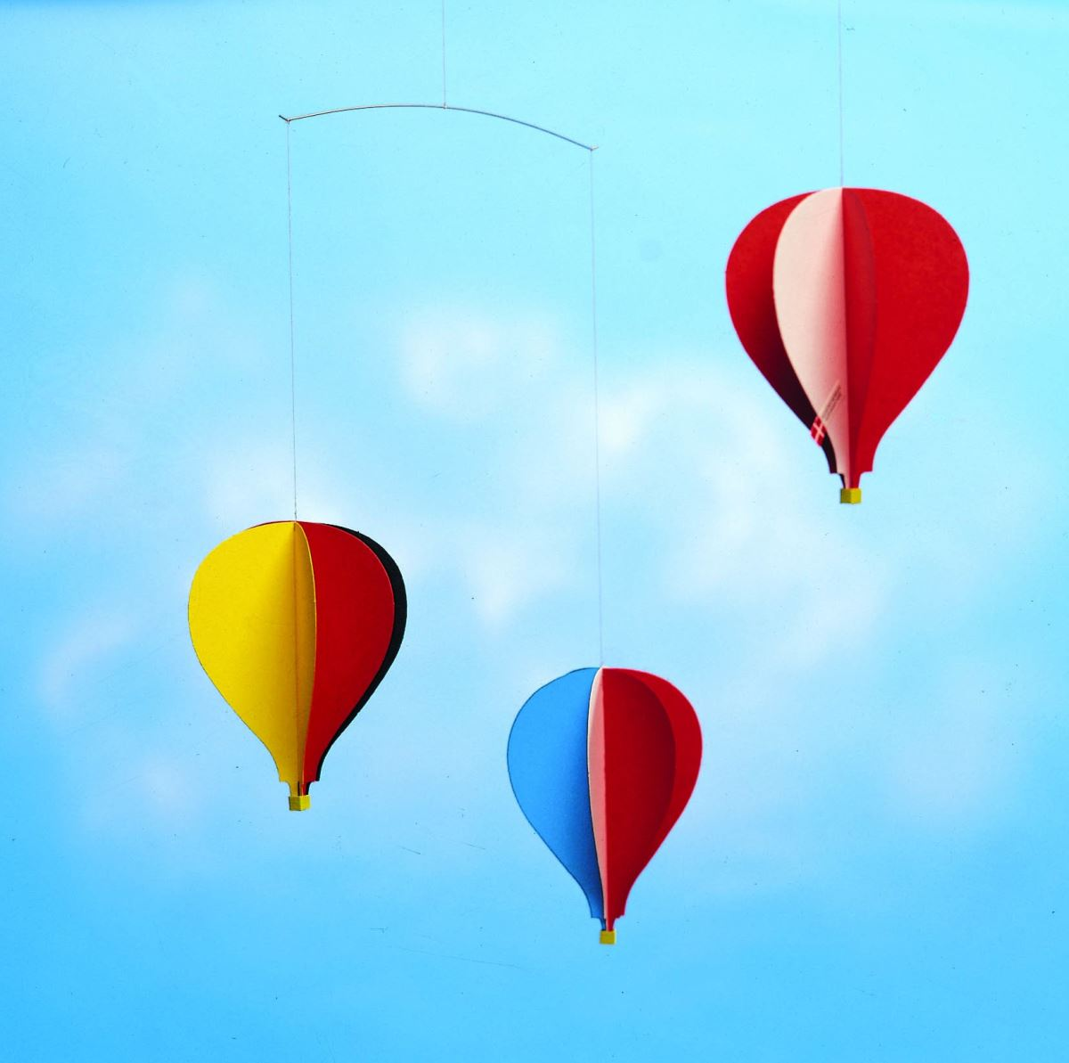 Flensted hot air balloon mobile