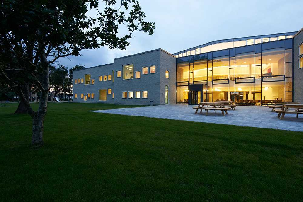 International school Ikast-Brande in Denmark by architectural firm C.F. Møller.