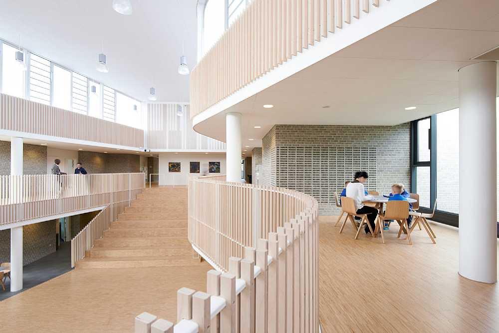 Interior at International school Ikast-Brande.