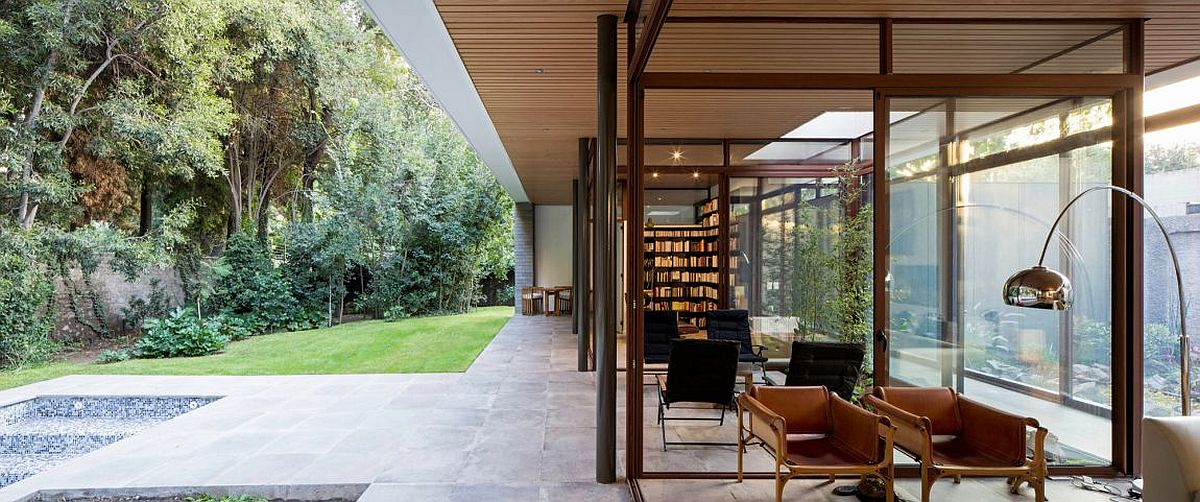 Sitting area, family zone and living space at The House and The Trees