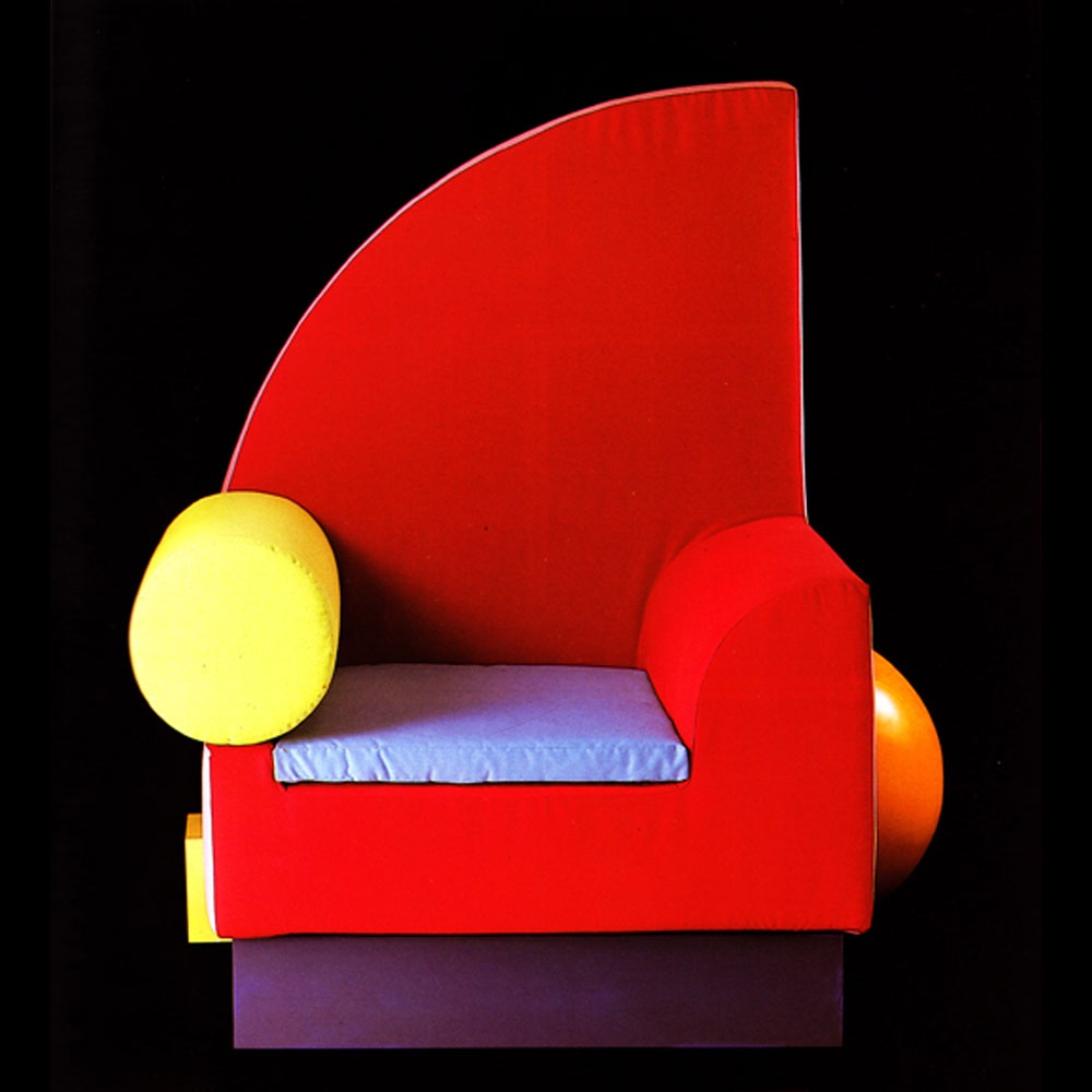 Bel Air chair. Image courtesy of Peter Shire.