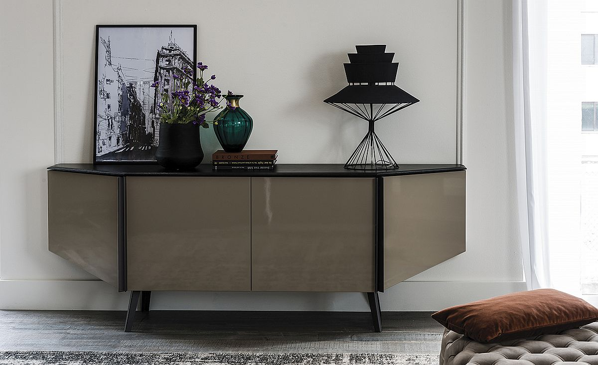 Contemporary sideboard with four doors from Cattelan Italia