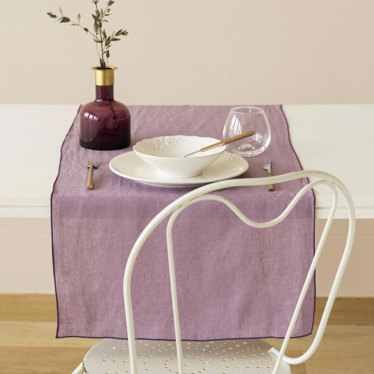 Linen table runner from Zara Home