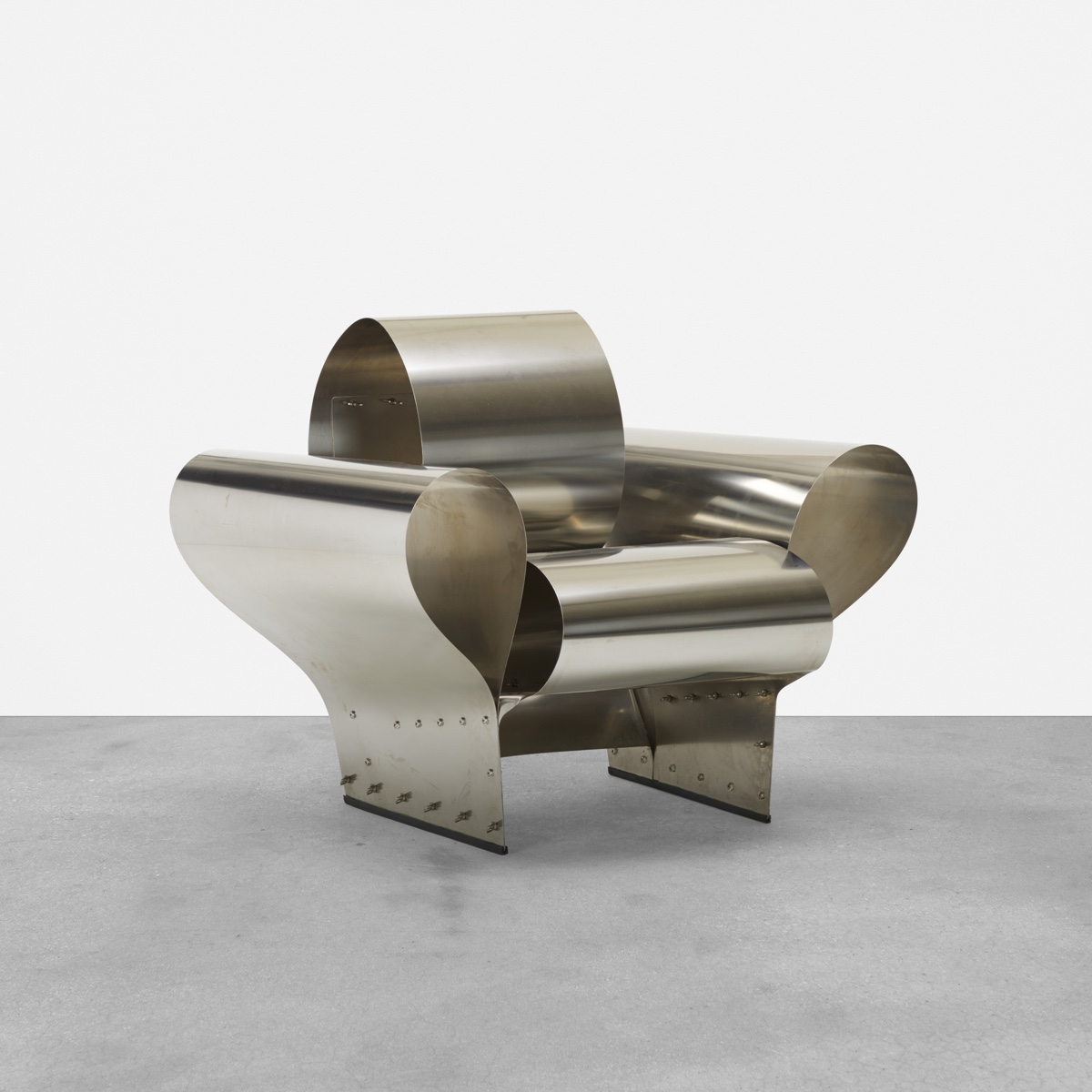Well Tempered Chair BY by Ron Arad for Vitra Editions.