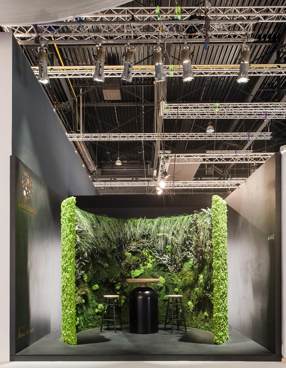 Green Mood booth