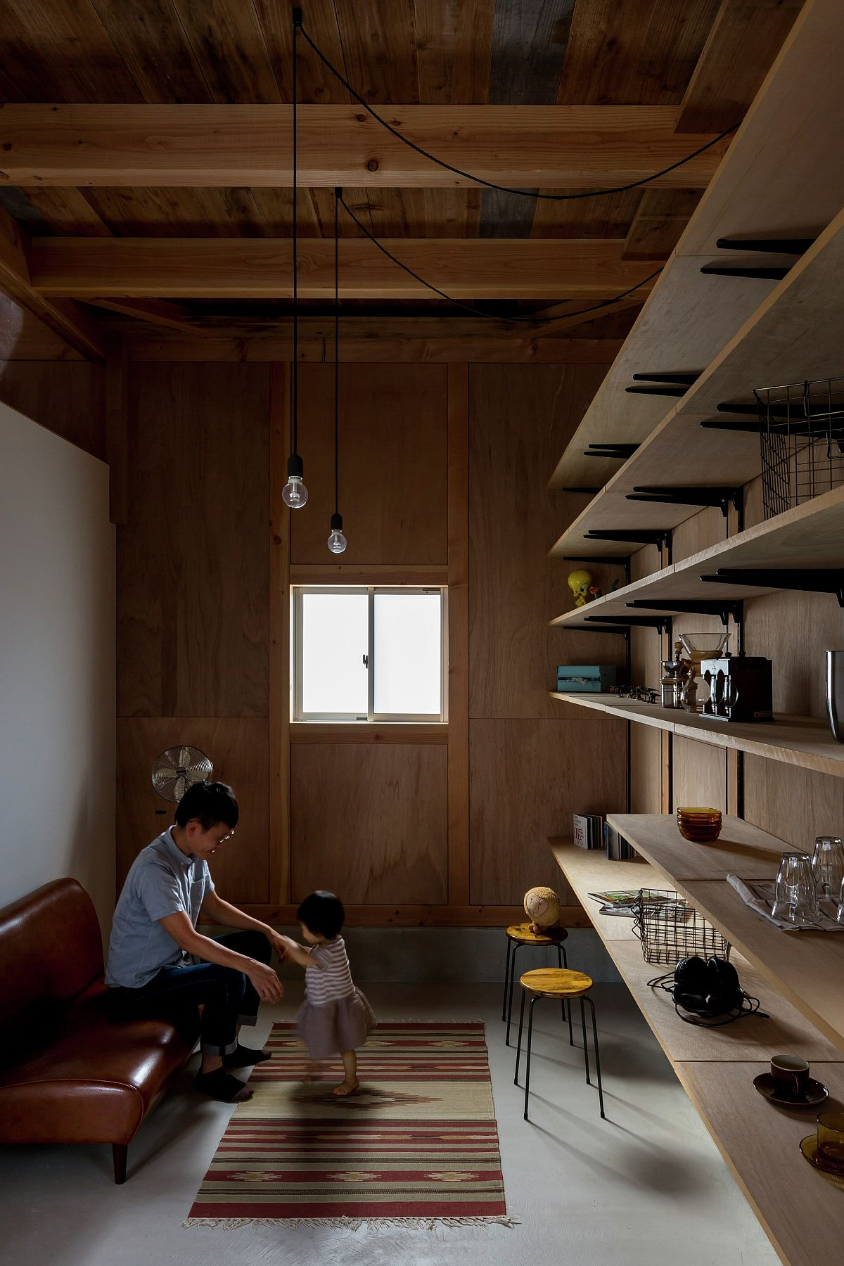 Home office and play area rolled into one