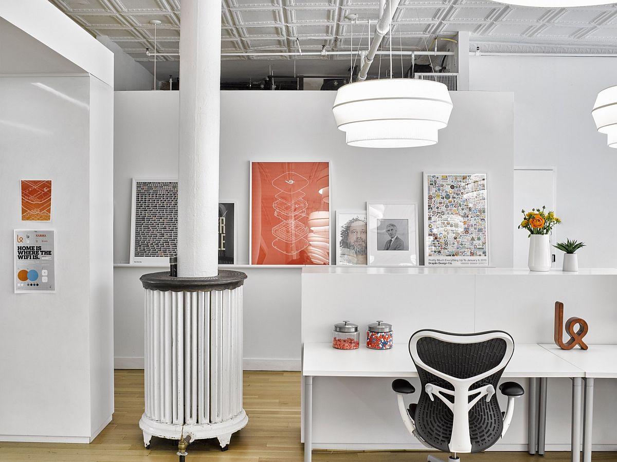 Scandinavian design influences help shape a stylish and serene modern office