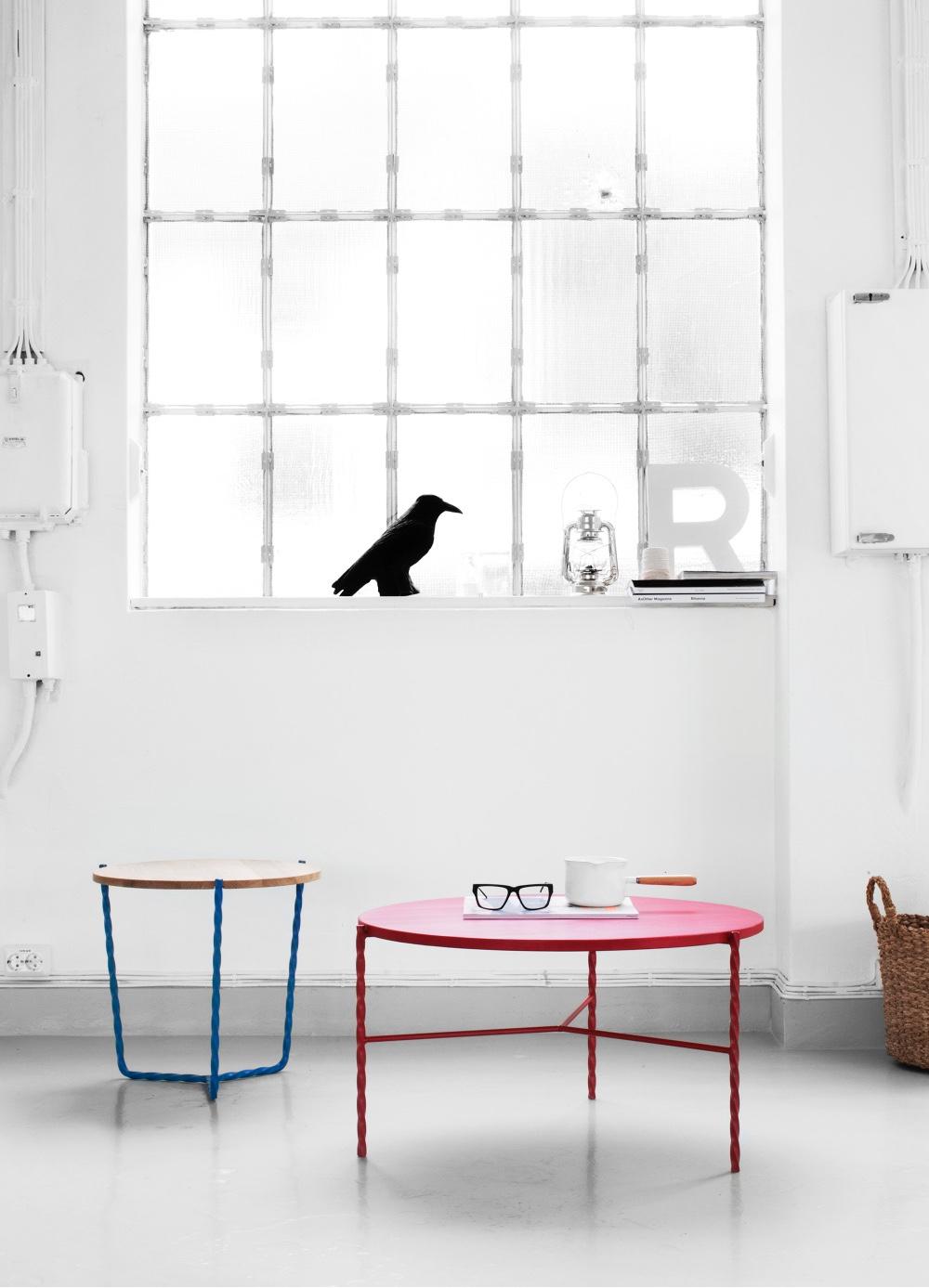 The Von iron coffee table byMorten & Jonas. Image courtesy of Morten & Jonas.