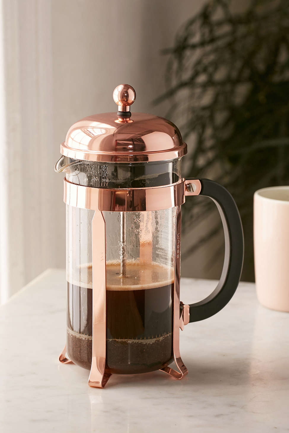 Copper French press from Urban Outfitters