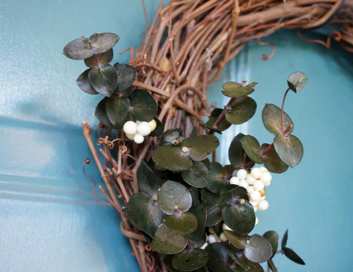 Front door wreath from Decoist