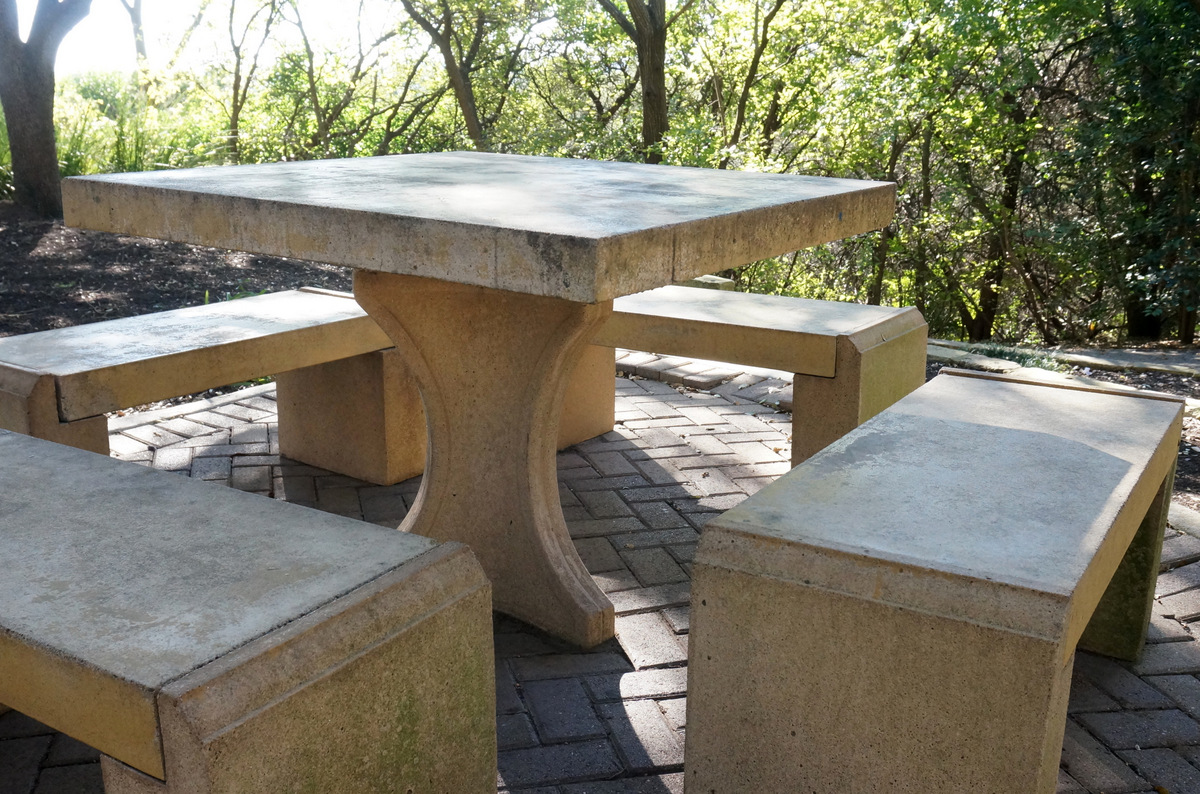 It may be time to clean outdoor furniture